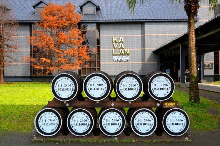 金車噶瑪蘭酒廠是世界各大威士忌競賽常勝軍。圖/摘自金車噶瑪蘭臉書。提醒您:禁止酒...