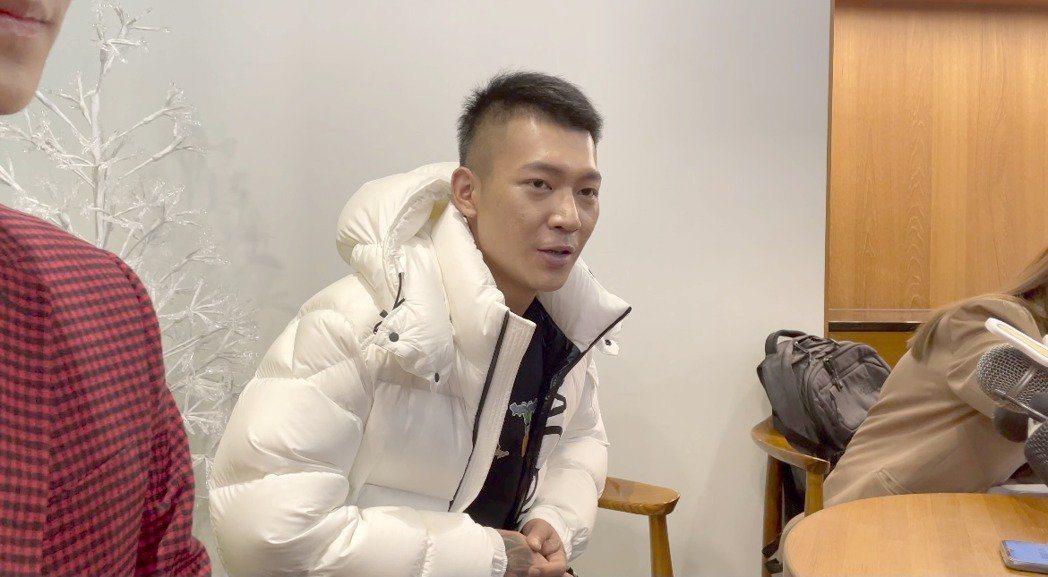 吳泓逸很清楚自己想要什麼,受訪時跟記者道別說再見。本報資料照