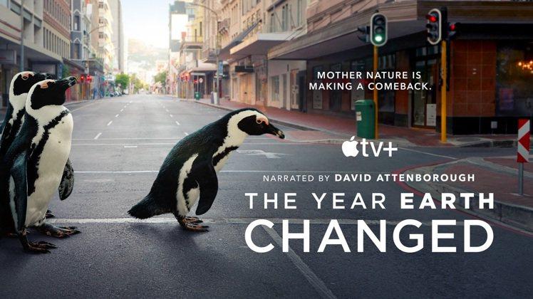 為慶祝世界地球日,Apple TV+將首播《這一年,地球變得不一樣》,在全球備受...