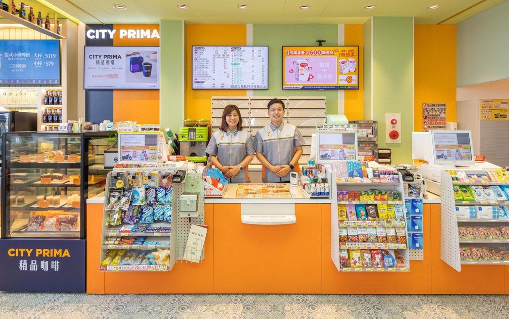 7-ELEVEN打造「CITY PRIMA精品咖啡專區」具備冷藏雙溫櫃,專門販售...