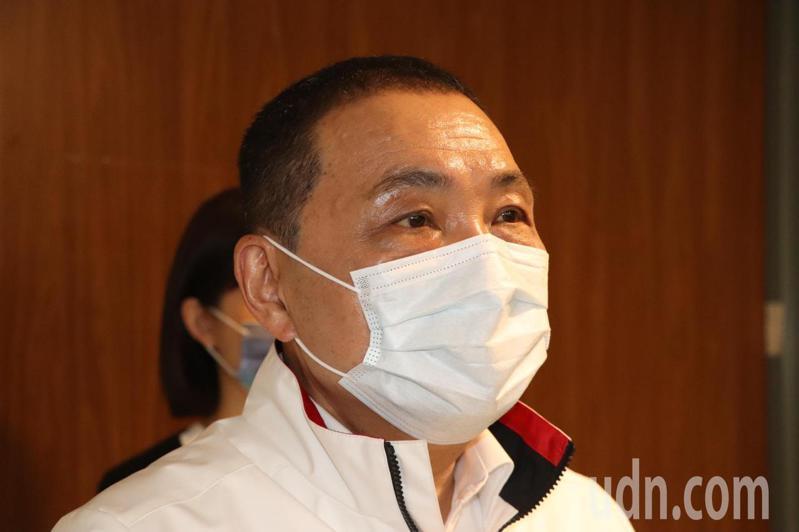 新北市長侯友宜今出席道安會報。記者吳亮賢/攝影