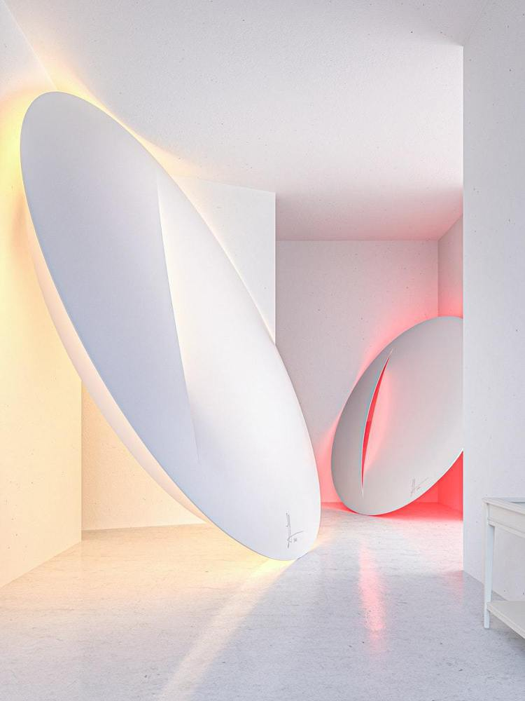 Sabine Marcelis擅長運用光影與材質,以「割畫布」為靈感設計IKEA...