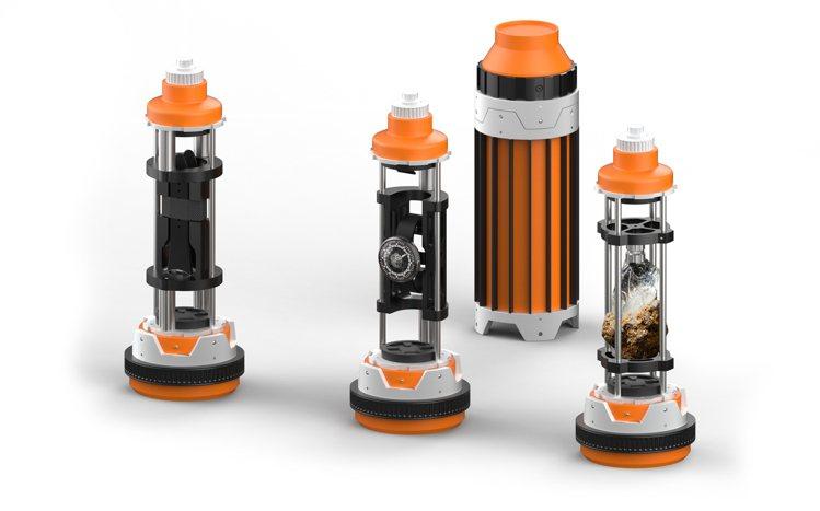 帝國專用光劍水晶收納箱箱內共分成九格儲存空間:三個插槽藏有三個膠囊瓶,分別裝有D...