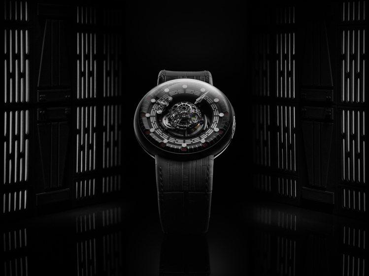 KROSS STUDIO近日於台灣隨即再發表一款Death Star™ 陀飛輪腕...