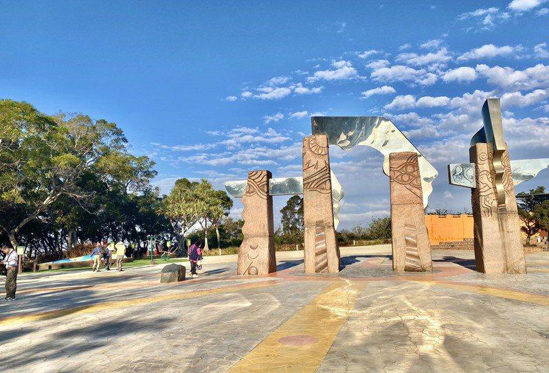 大甲雕塑公園。圖/中市府觀旅局提供