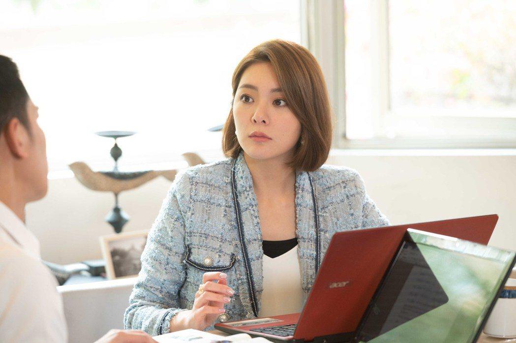 楊雅筑吐露拍攝「女兵日記」前曾陷低潮。圖/TVBS提供