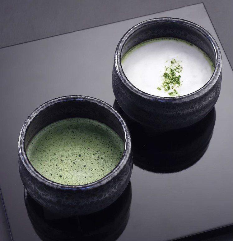 京都抹茶150元,抹茶拿鐵170元。圖/新光三越提供