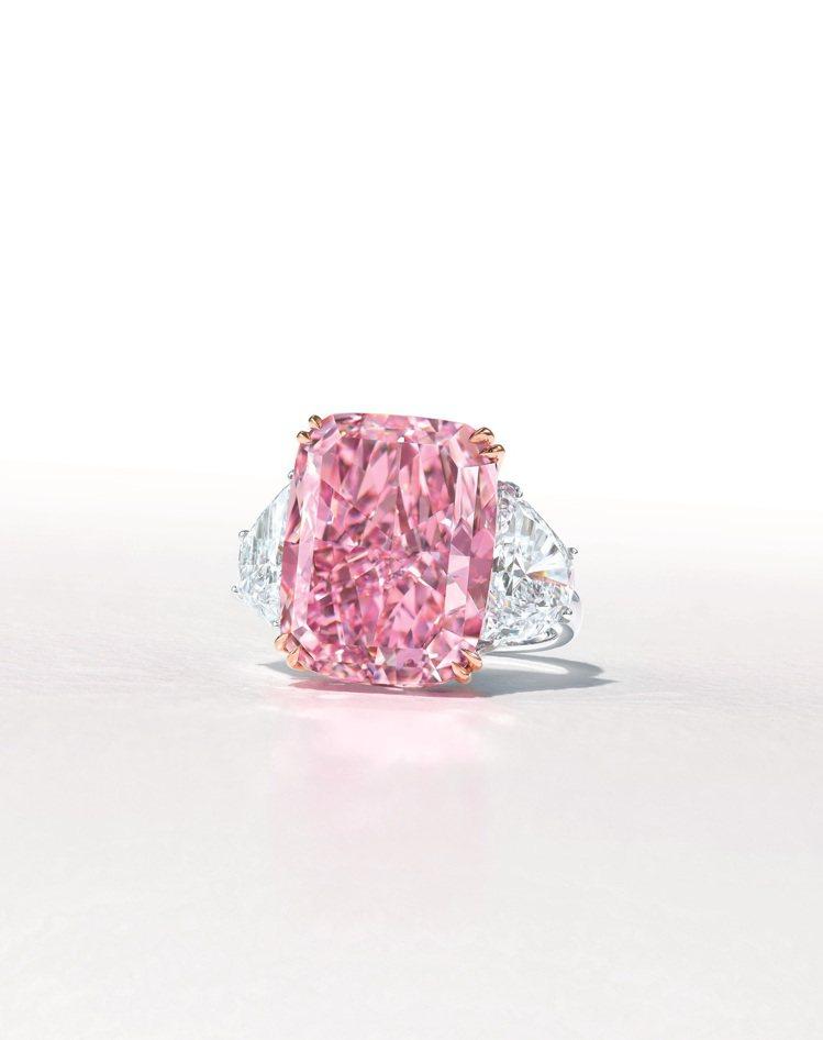 佳士得香港春拍推出「The Sakura Diamond」15.81克拉的豔彩紫...