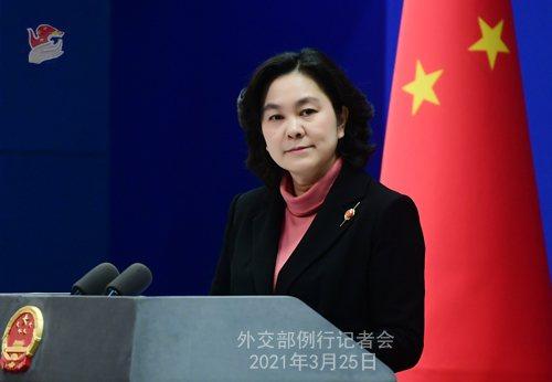 傳美國正準備發布指南讓美國外交官更易與台灣官員接觸,大陸外交部30日回應,希望美...