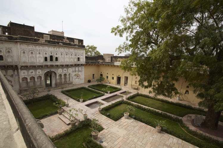 超過220歲的古堡位於著名的歷史地區Shekhawati。圖/寬庭美學提供