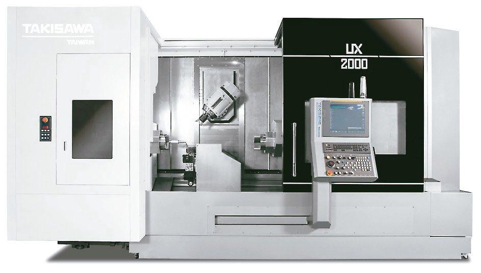 瀧澤科「TAKISAWA」歷時2年研發,符合新世代加工的UX-2000五軸車銑複...