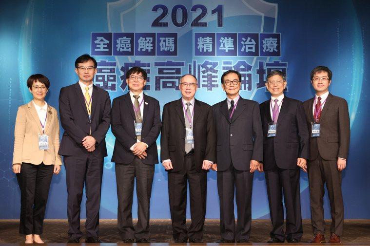 2021癌症高峰論壇於三月27、28日舉行,第一天議程由亞東醫院腫瘤科主任林世強...