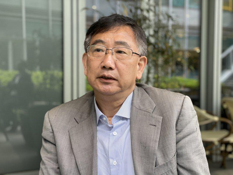 上海東亞研究所研究員包承柯。記者林則宏/攝影