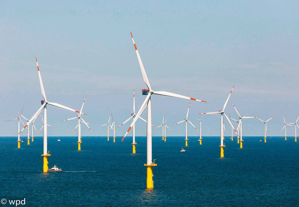 「台歐盟風能研討會」昨日舉辦,歐洲代表指出,台灣政府對離岸風電「國產化」要求,已...