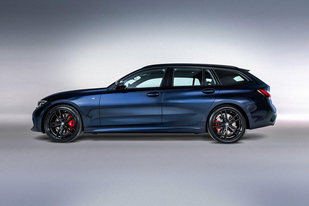 330i M Sport Midnight Edition夜型版配備M款跑車化電...