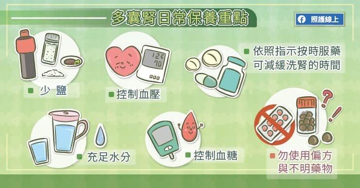 患者要控制血壓、血糖,並養成規律運動的習慣,但不可太過激烈。 圖/照護線上