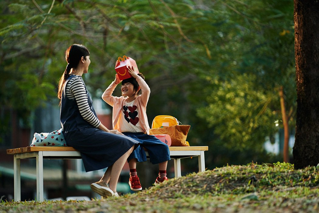 ▲林君陽導演在影片中傳達「用心讓陪伴別具意義」。 圖/麥當勞 提供