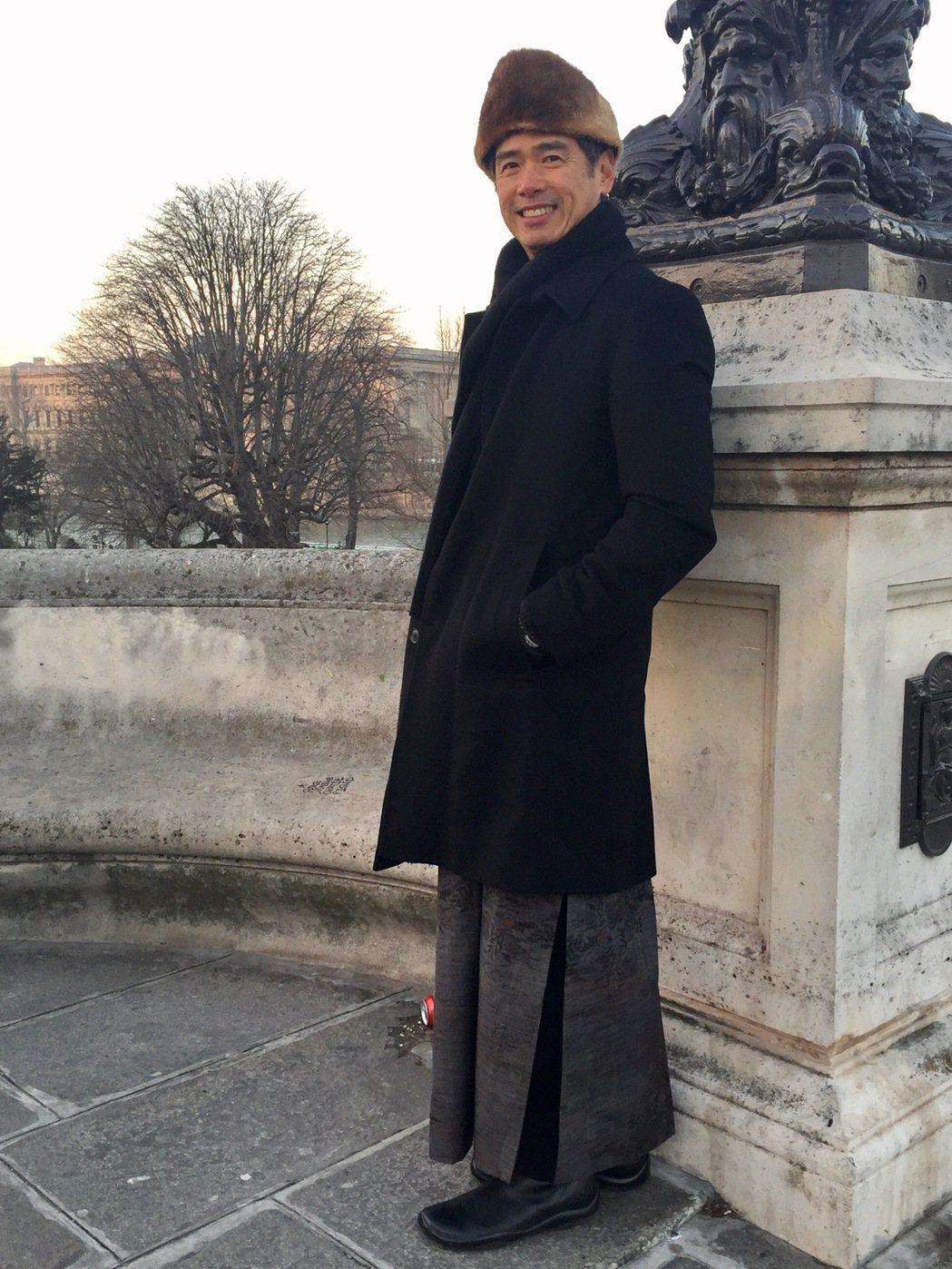 李明維在紐約、巴黎長居多年,生活型態始終簡單樸實。圖/李工作室 提供