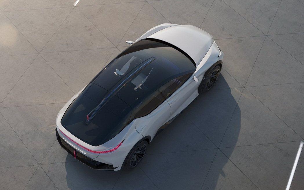 Lexus LF-Z Electrified Concept。 圖/Lexus提...