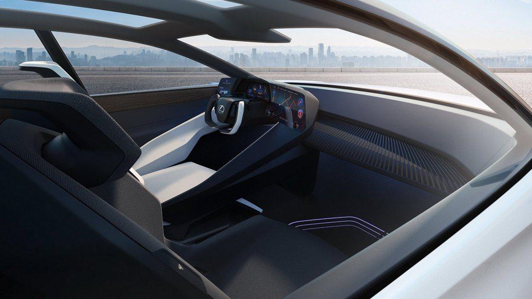 Lexus想創造一個空間,讓駕駛在其中可以實現各種功能。 圖/Lexus提供