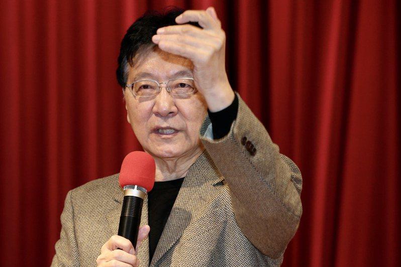 國民黨中常會今討論邀請中廣董事長趙少康(圖)來演講之形式,趙少康盼「全程公開」,但有中常委反對。本報資料照片