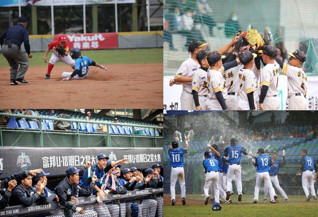 富邦金控舉辦富邦盃台灣12強少棒大賽、富邦U18明日之星大賽,提供年輕選手展現自...