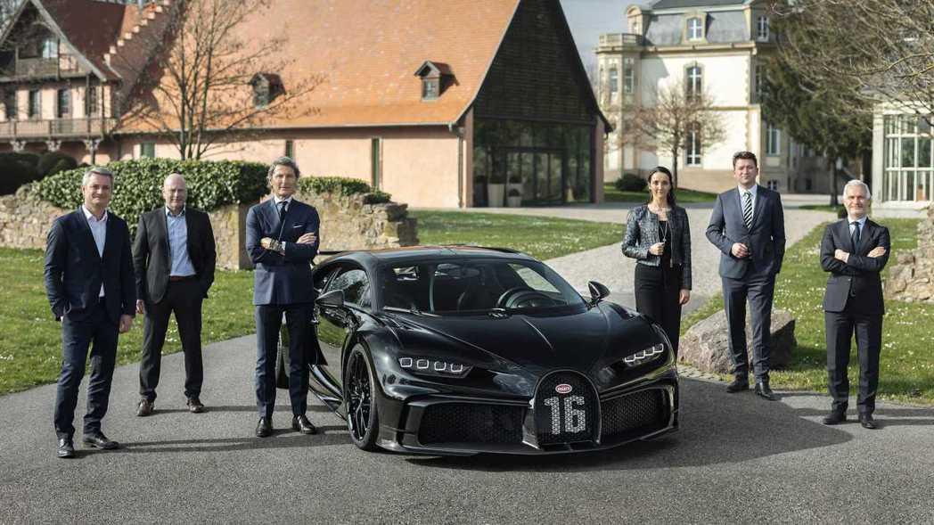 Bugatti Chiron Pur Sport。 圖/Bugatti提供