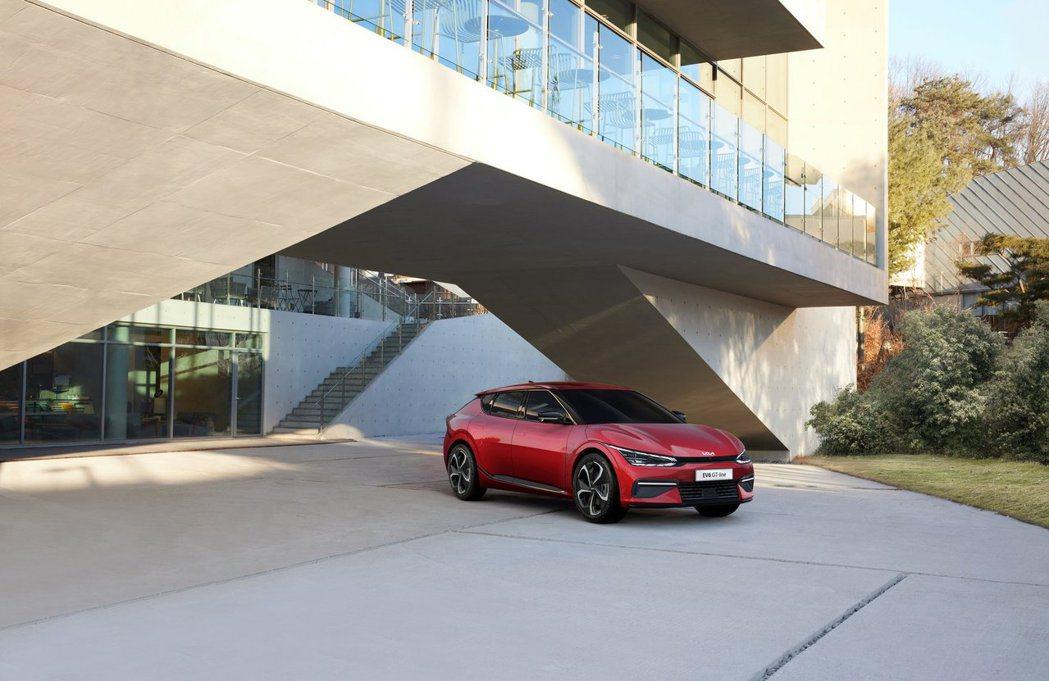 除了EV6 GT僅搭載77.4kWh長里程版的鋰電池組,一般版本車型與EV6 G...