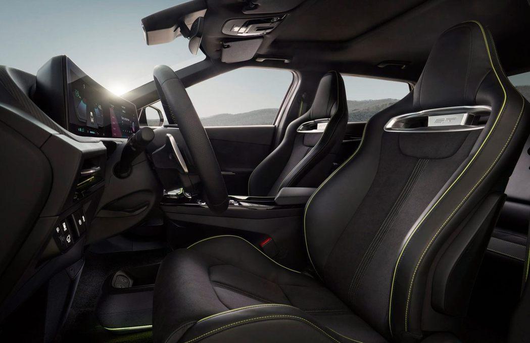 圖為Kia EV6 GT專屬座椅。 摘自Kia