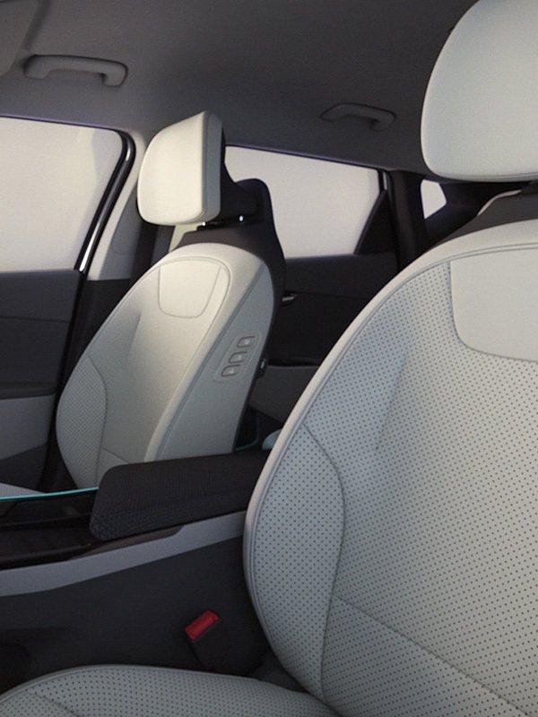 全新Kia EV6座椅的質料使用了可回收的塑料而製 (約111個PET寶特瓶的數...
