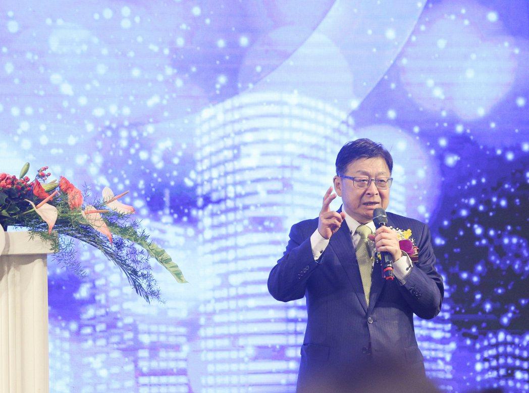 中洲建設董事長黃啟倫連任台灣省不動產開發商公會聯合會理事長。 攝影/張世雅
