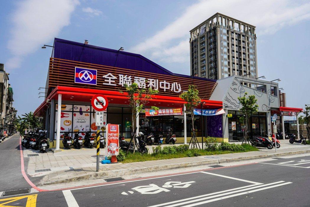 仁義重劃區目前已有550坪大型連鎖超市,生活機能便利。(圖/本報資料照)