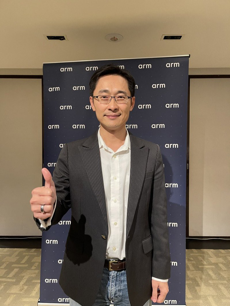 Arm台灣總裁曾志光。記者鐘惠玲/攝影