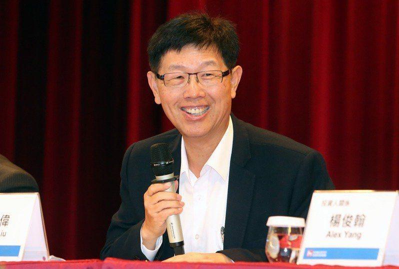 鴻海董事長劉揚偉。 報系資料照