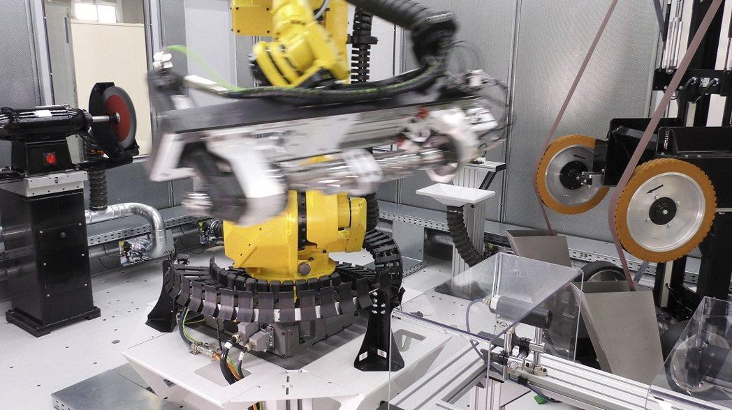 自動化機器人。 台灣大昌華嘉/提供