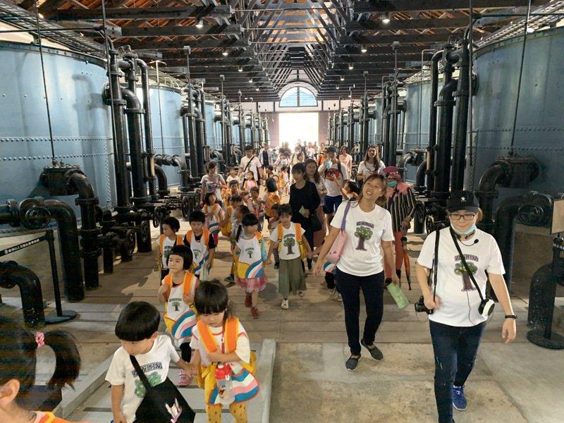 台南山上水道博物館將誕生百萬遊客,預計落在清明連假。圖/文化局提供