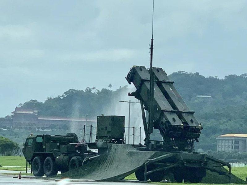 愛國者三型防空飛彈。記者洪哲政/攝影