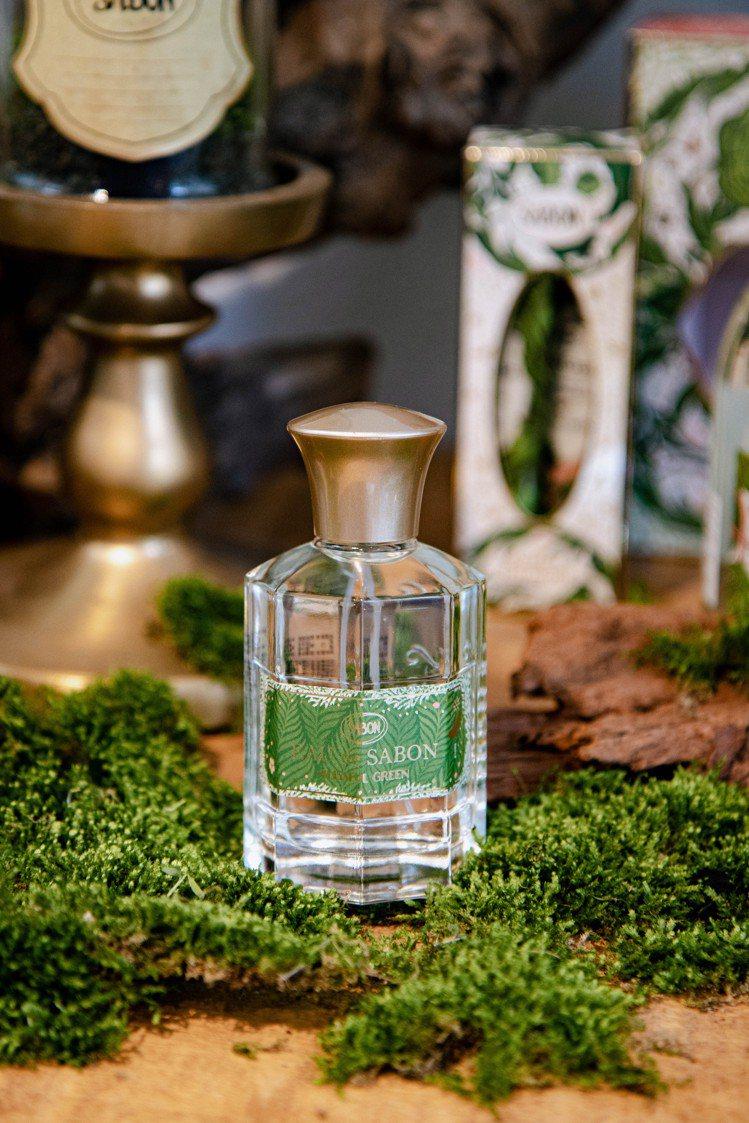 SABON綠意叢林宣言香水80ml/2,180元 。圖/SABON提供