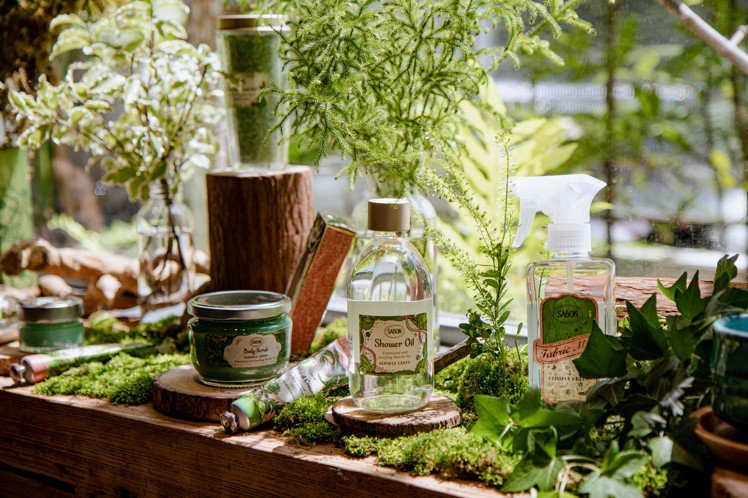 SABON推出綠意叢林系列。圖/SABON提供