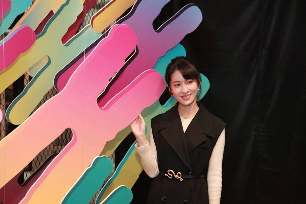 連俞涵為唐氏症基金會在西門紅樓舉辦的「嘿!小唐我在這」大眾展擔任「一日導覽員」。...