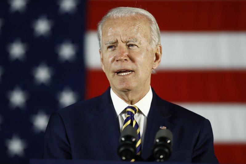 美國總統拜登宣布逾2兆美元的基建大計畫。(美聯社)