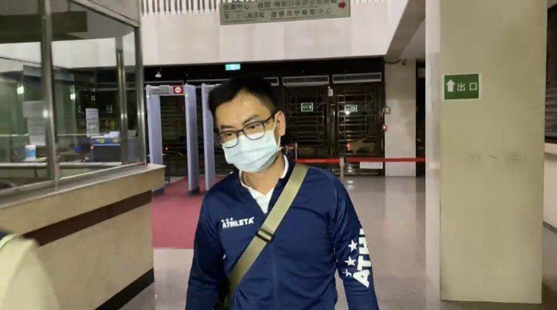 陳凱琳先生林淦偉。記者張宏業/攝影