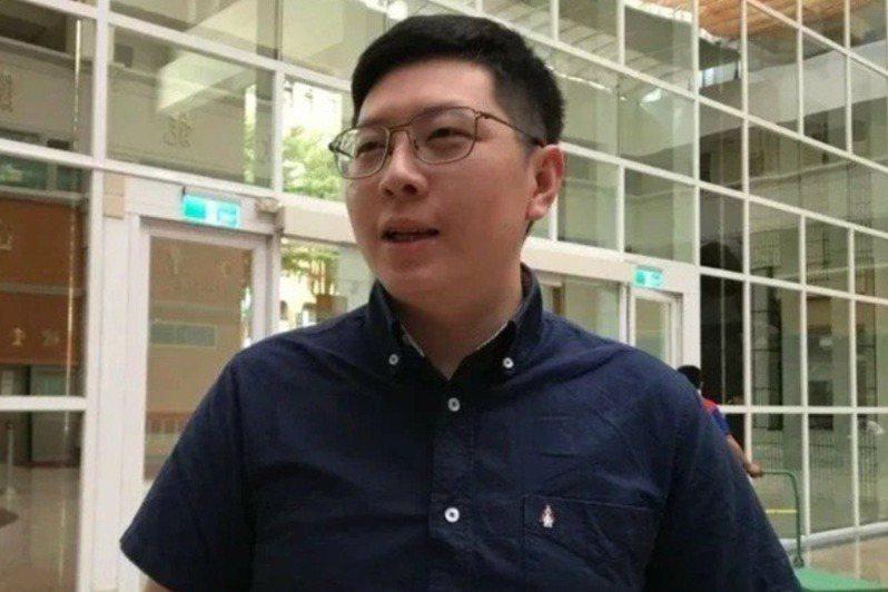 民進黨前市議員王浩宇。圖/聯合報系資料照片