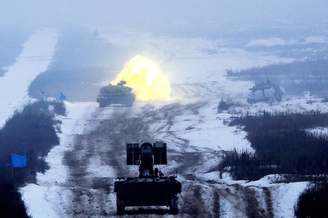 圖為烏克蘭部隊。 圖 / 路透社