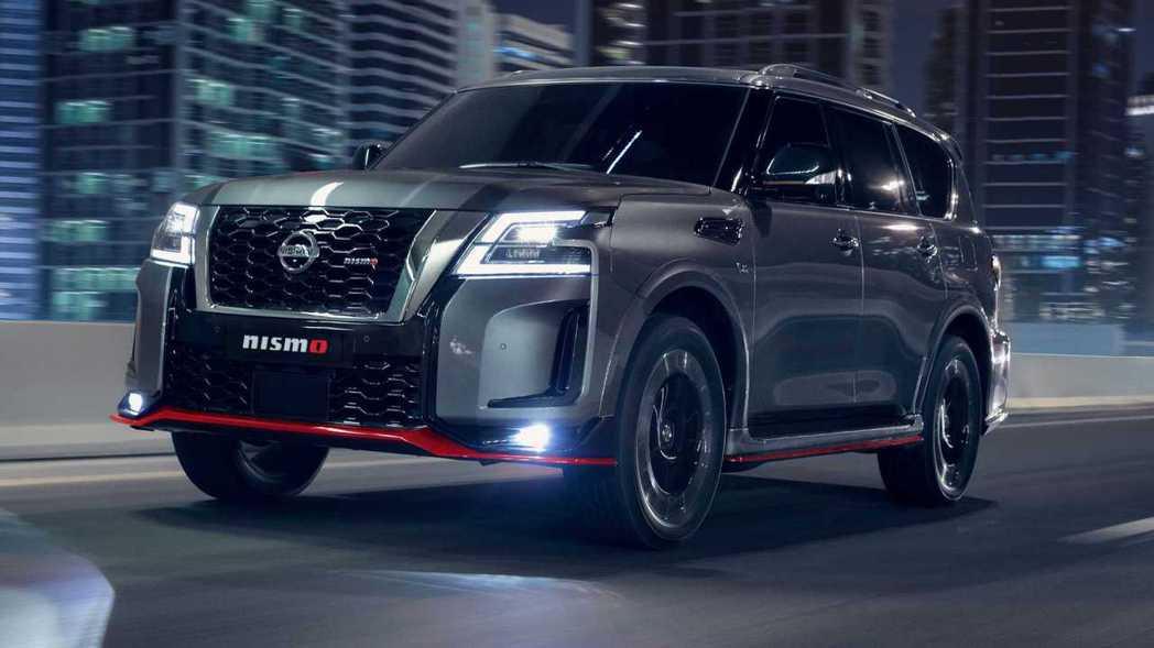 Nissan Patrol NISMO在外觀上也做了許多運動化升級。 圖/Nis...