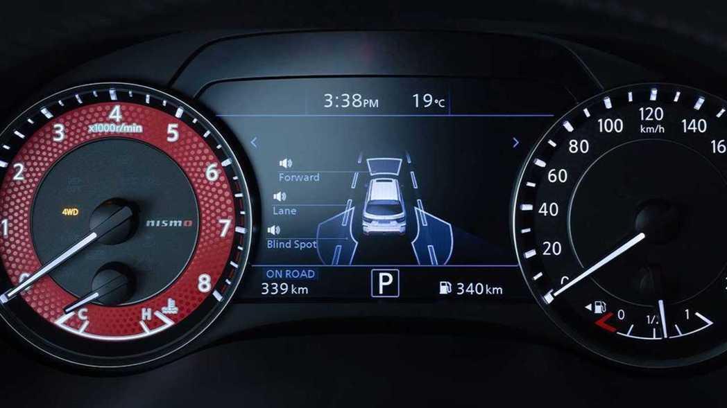 當然NISMO儀表與Nissan Safety Shield 360安全防護系統...