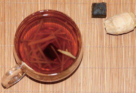 生薑紅糖水 圖/摘自《防病藥茶》