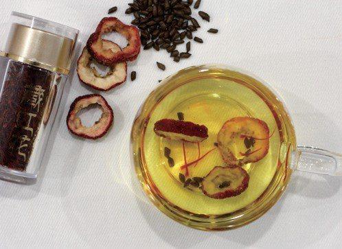 西紅花降脂茶 圖/摘自《防病藥茶》