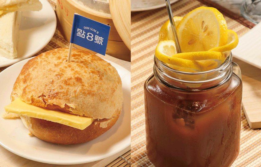 菠蘿油+凍檸茶。業者/提供
