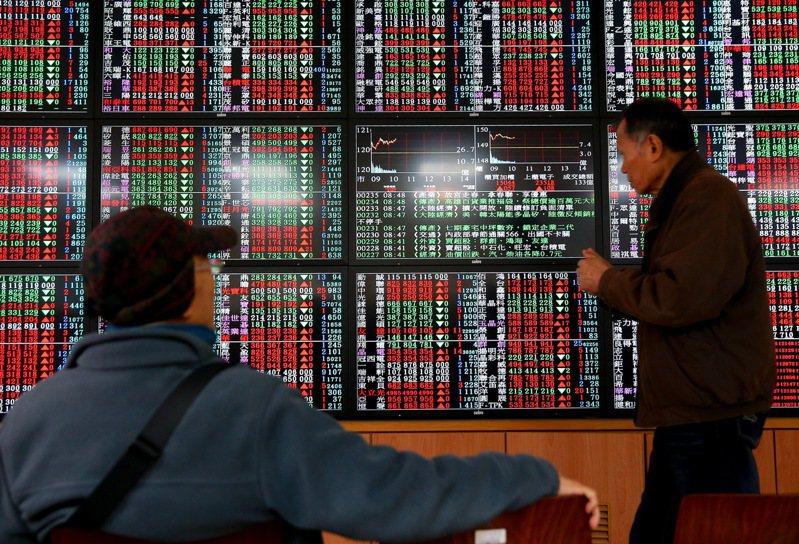 台股今終場上漲140.15點,收在16,571.28點,收盤創下歷史新高價,成交量3,224.95億元。聯合報系資料照
